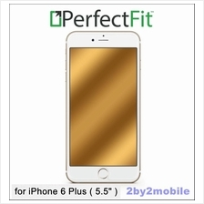 100% Original PerfectFit Champagne Gold GlassShield iPhone 6 Plus USA