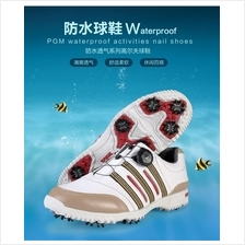 PGM PATENTS GOLF SHOES MEN LEATHER SHOES NAILED ACTIVITY SPIKE