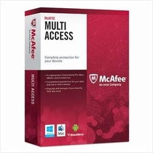 Mcafee Multi Device - 1 Year 3 Months + 3 Device Windows Android PC