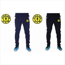 Gold Gym Long Tight Pants (Gym Fitness Sport SELUAR panjang ketat)