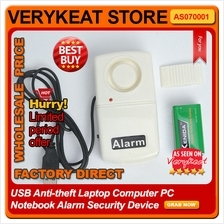 USB AntiTheft Theif Laptop Computer PC Notebook Alarm Security Protect