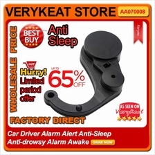 Car Driver Alarm Alert Anti-Sleep Anti-drowsy Alarm Awake Safe