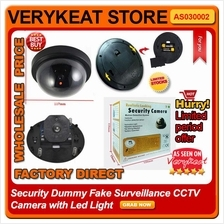 Flash Blinking LED Light Fake Surveillance CCTV Security Dummy Camera