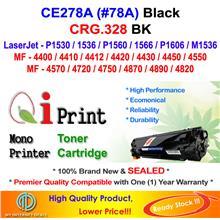 HP CE278A 78A P1560 M1536 CRG 328 Toner Compatible * NEW SEALED *