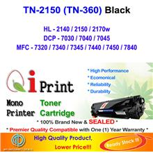 Brother TN2150 TN360 HL2140 2150 7340 Toner Compatible * NEW SEALED *