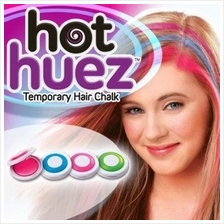 Hair Chalk - Temporary Hair Color by Hot Huez *Free Poslaju