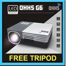 [ 1 Year Warranty ] OHHS G6 GM50 LED HDMI Projector Support Powerbank