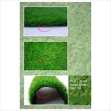 35MM ARTIFICIAL GRASS , FAKE GRASS, SYNTHETIC GRASS (1M X 1M) (GREEN)