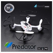 Predator 2.4Ghz 4CH remote control RC 6-Axis GYRO Mini 3D Quadcopter U