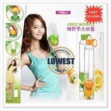 RM9.5 Lowest Price! Citrus Zinger Lemon Juice Water Drinking Bottle
