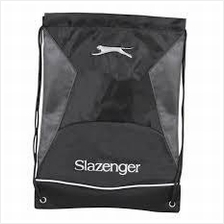 2X Slazenger Fitness Sport Grey Draw String Bag (UK) gym