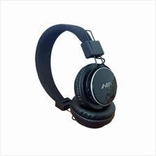 NIA Q8 Bluetooth headphones with Micro SD Player and FM Player Black