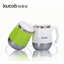 Kucob 450ml Individuality Big Belly Insulated Mug Stainless Steel