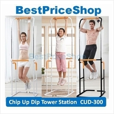 Chin Up Dip Tower Station CUD-300 - Pull Up Abs Upper Body Exercise