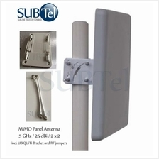5 GHz 25 dBi Panel MIMO Antenna Malaysia for Ubiquiti
