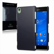 Terrapin Sony Xperia Z3 Case [Extra Slim Fit] Hybrid Rubberized