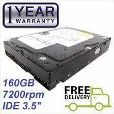 "160GB WD IDE PATA 3.5 inch Desktop PC Hardisk Hard Disk 3.5"" HDD Drive"