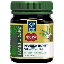 Manuka Honey Anti Bakteria MGO250 500Gram (New Zealand) (Health+Energy