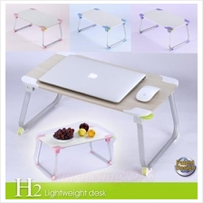 XGear H2 Foldable Portable Notebook Laptop Dining Desk Bed Table Stand