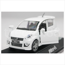 Perodua Myvi 1:32 Diecast Genuine Product White Car COLLECTION NEW Toy