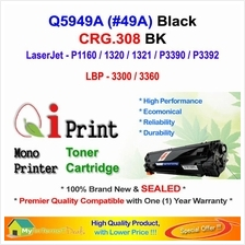 HP Q5949A 49A P1160 P1320 CRG 308 Toner Compatible * NEW SEALED *