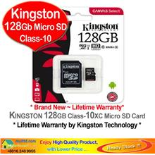 KINGSTON Micro SD 64GB Class-10 HD *Lifetime Warranty*