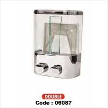 SOAP CONTAINER SOAP DISPENSER (DOUBLE)
