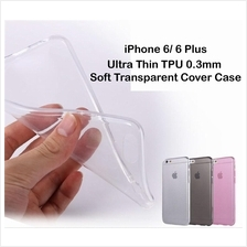 Apple iPhone 6/6 Plus Ultra Thin TPU 0.3mm Soft Transparent Cover Case