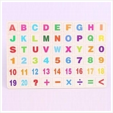 Educational Insights Wooden Magnetic Board Alphabet & Numbers