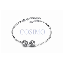 Fashion White Gold Plated Anklet Foot Chain Cute Adjustable Length