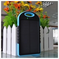 Solar Charger Power Bank 5000/12000mah Dual USB Water&Dustproof