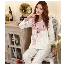 Female Cotton Pyjamas Nightwear Sleepwear Nightclothes Night dress