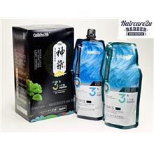 500ml Chinese Herbal Lingzhi Natural Black Hair Dye Crystal Shampoo