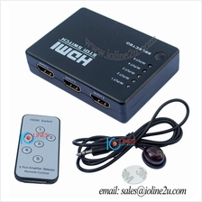 5 Port 5 way HDMI 5 to 1 Switcher Selector Remote Control PS3/4 Astro