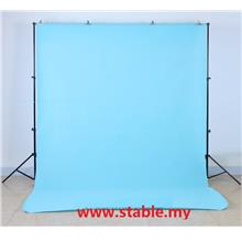 2.6X3M Portable Backdrop Background Stand Kit with Carry Bag Set