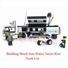Enlighten Police Series Riot Tracking Car Building Block Sets