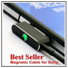 New ! 2015 LED Magnetic Charging Cable USB for Sony Xperia Model