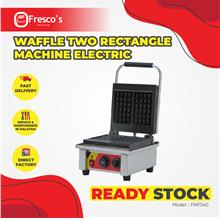 Waffle Two Rectangle Machine Electric