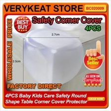 4PCS Baby Kids Care Safety Round Shape Table Corner Cover Protector