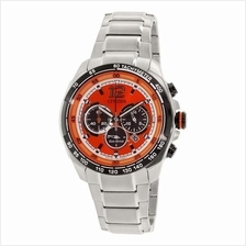 citizen eco drive chronograph orange (end 5/5/2019 3:15 pm)