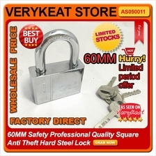 60MM Safety Professional Quality Square Anti Theft Hard Steel Lock