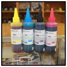 Saintink Universal 100ml CISS Printer Refill Bulk Ink Color Canon Hp!!