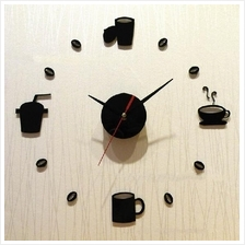 DIY Acrylic Breakfast, Lunch, Dinner & Supper 3D Wall Clock