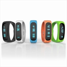 OLED E02 Intelligent Sport Bracelet Healthy Pedometer Watch Smart Band