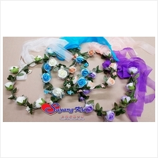 WEDDING FLOWER HEADBAND / BUNGA KEPALA TZ3837