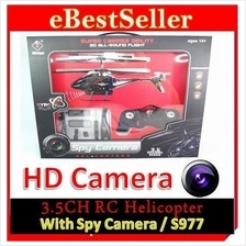 Camstryker S977 RC Remote Helicopter + Spy Camera + LED Light 3.5CH