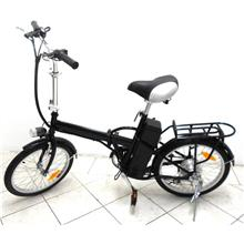 Electric Bike 6 Speed , Folding Electric Bicycle FXEB-8601B