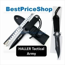 Tactical 4 in 1 Haller Army Throw Knife Survival Dart Hiking Defence