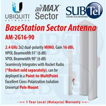 AM-2G16-90 Ubiquiti 2GHz 16dBi 90degree MIMO Sector WiFi Antenna