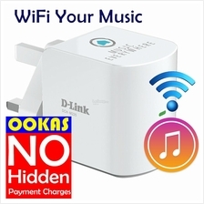 D-LINK Wireless WiFi Audio Receiver+Extender Repeater DCH-M225 Music